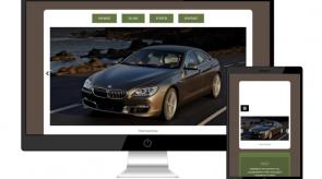 Темплейт за сайт конструктор RentalCars