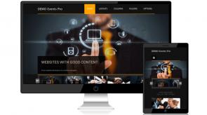 Темплейт за сайт конструктор EntirePro