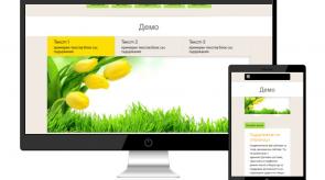 Темплейт за сайт конструктор FreshnessPro