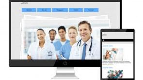 Темплейт за сайт конструктор MSmedical