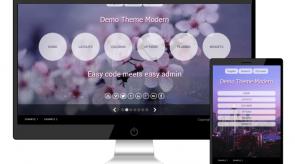 Темплейт за сайт конструктор ModernPro