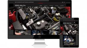 Темплейт за сайт конструктор AutoPartsPro