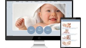 Темплейт за сайт конструктор baby