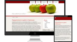 Темплейт за сайт конструктор fon_red